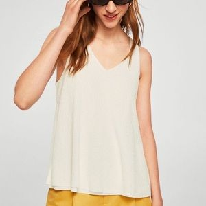 NEW Mango Double Layer White Tank Small